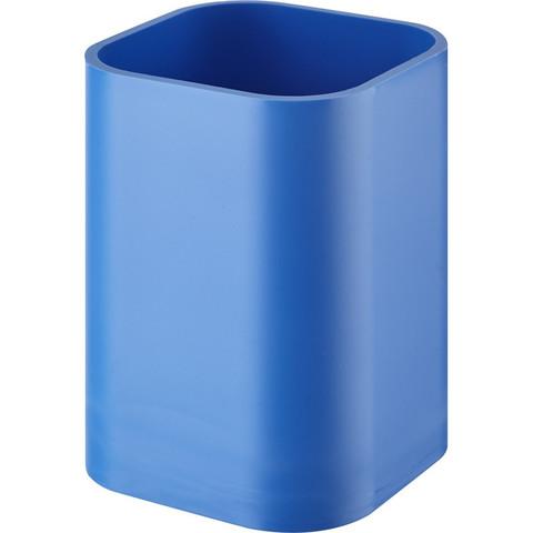 Подставка-стакан для канцелярских мелочей Attache голубая