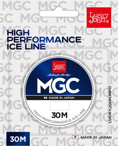 Леска монофильная LUCKY JOHN MGC, зимняя, 30 м - 0.10 мм, прозрачная