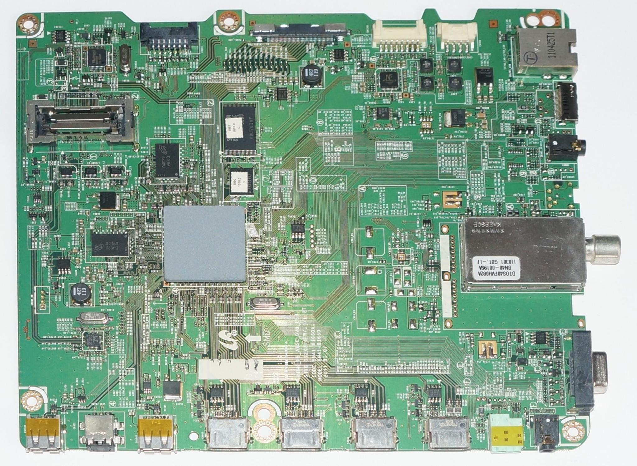 BN41-01660A  mainboard телевизора Samsung UE40D5500