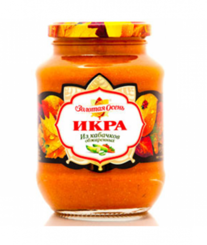 "Икра ""Золотая осень"" кабачковая 510 г"