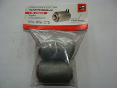 Шарнир резина-металлический рессоры 3163, 3741 2шт.(полиуретан) (redBTR)