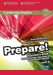 Cambridge English Prepare! Level 5 Teacher's Bo...