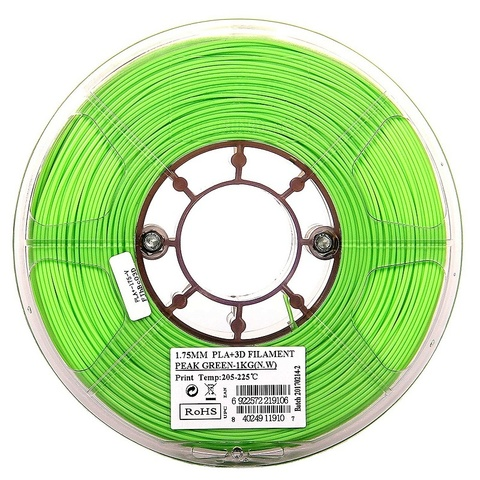 ESUN PLA+ 1.75 мм 1кг., светлозеленый