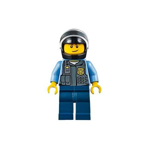 LEGO Juniors: Погоня на полицейском вертолете 10720 — Police Helicopter Chase — Лего Джуниорс Подростки