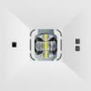 Аварийные светодиодные светильники для высоких потолков ONTEC C F1 – вид спереди крупным планом