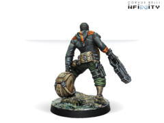 Irmandinho (вооружен Chain Rifle)