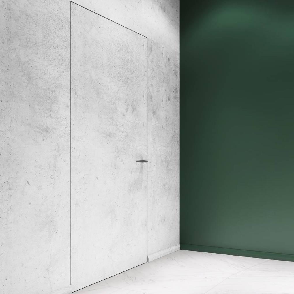 Двери Profil Doors Межкомнатная скрытая дверь под окраску 0Z Invisible Revers Black Edition с чёрной алюминиевой кромкой с внутренним открыванием skritaya-blak-dvertsov.jpg