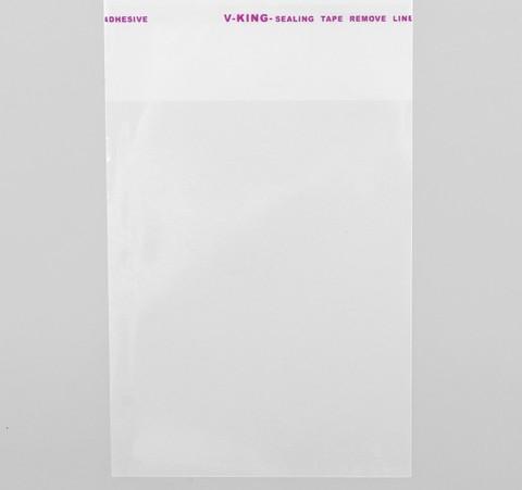 Пакет с липким краем, 7*8см, 100шт