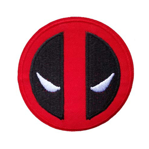 Clothing Patch Stickers Deadpool