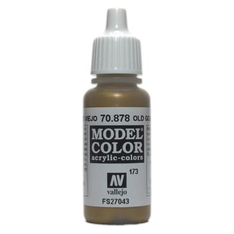 Model Color Old Gold 17 ml.