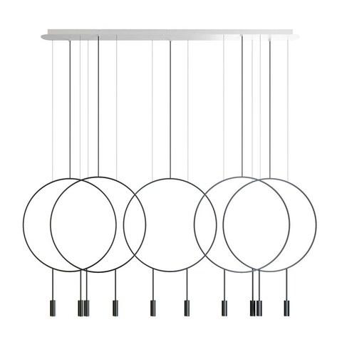 Подвесной светильник копия REVOLTA by Estiluz (5 плафонов)