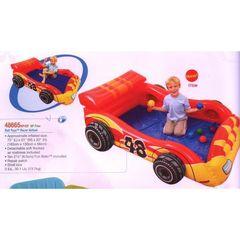 Intex Детский игровой надувной центр Машина с мячиками, 183*130*56 см (140731)