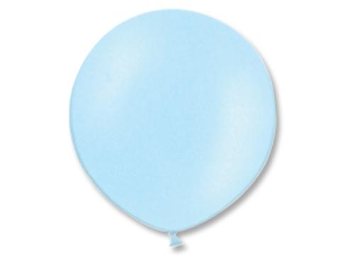 Большой воздушный шар голубой