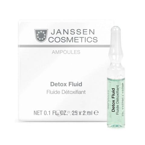 JANSSEN | Детокс-сыворотка в ампулах / Detox Fluid
