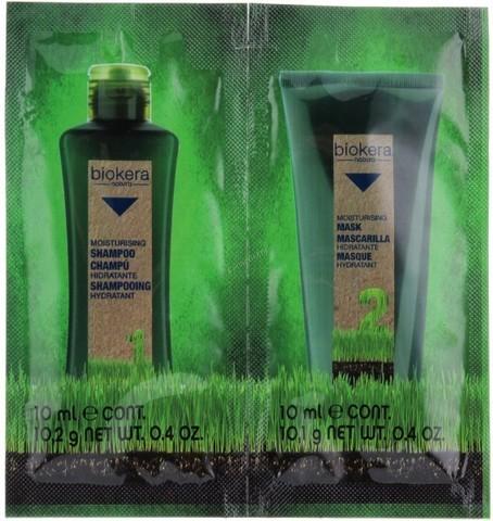 Увлажняющая линия Биокера (шампунь и маска) - Biokera Moisturising Line Salerm