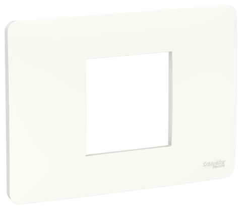 Рамка 2-модульная, Цвет Белый. Schneider Electric. Unica Modular. NU210218