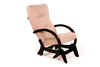 Кресло-глайдер «Мэтисон», ткань крем брюле, каркас венге, GREENTREE