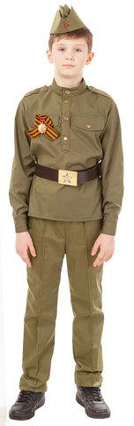 Детский военный костюм Солдат с орденом