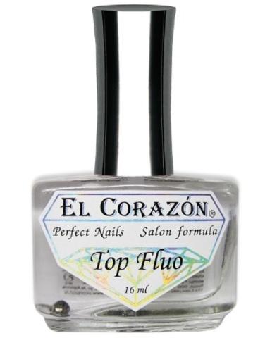 El Corazon лечение 411 Флуоресцентный лак-топ