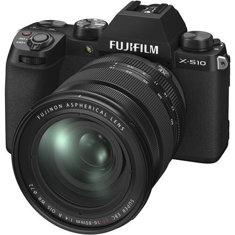 Цифровой беззеркальный фотоаппарат Fujifilm X-S10 Kit 16-80mm