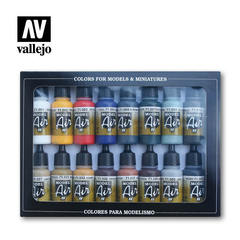 MODEL AIR SET: BASIC COLOR PACK (16)