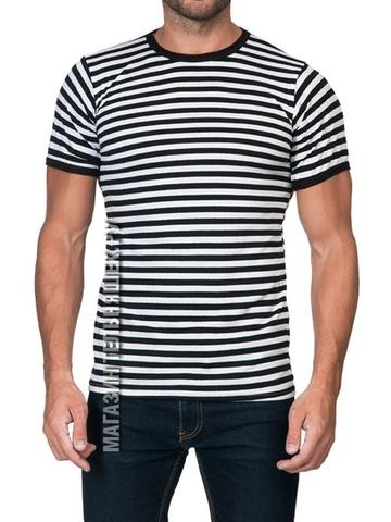 Купить черную футболку - Магазин тельняшек.ру 8-800-700-93-18