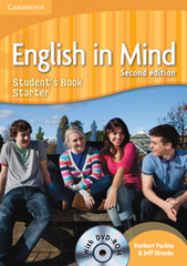 English in Mind (Second Edition) Starter Student's Book with DVD-ROM
