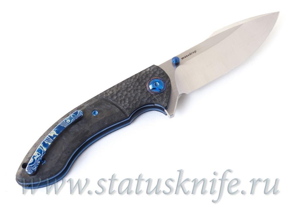 Нож Eric Ochs Orca Titanium Blue accent - фотография