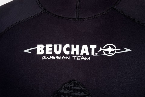 Гидрокостюм Beuchat Espadon Equipe Rus 5 мм черный – 88003332291 изображение 7