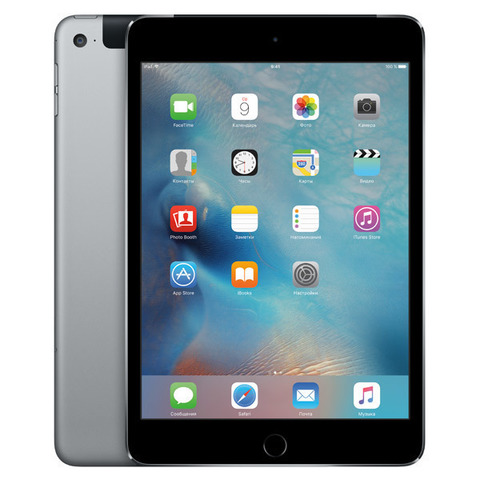 iPad mini 4 Wi-Fi+Cellular 64GB Space Gray MK762