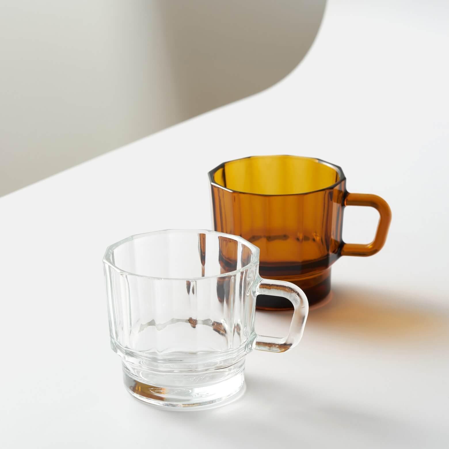 W Glass — стакан янтарного цвета