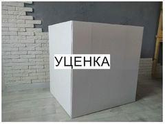 Уценка, Коробка для шаров, Белая, 60*80*80 см. (Дополнительная скидка не действует)