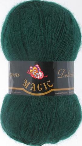 Пряжа Angora Delicate Magic 1109 Темно-зеленый - купить в интернет-магазине недорого klubokshop.ru