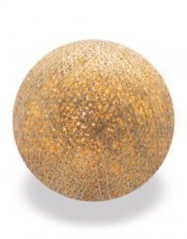 Хлопковый шарик золото