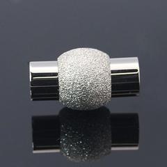 Замок для бус магнитный 19х11мм  ювелирная сталь