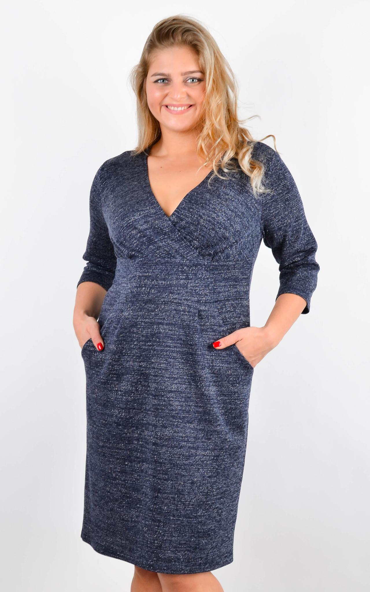 Платье Регина (синий)