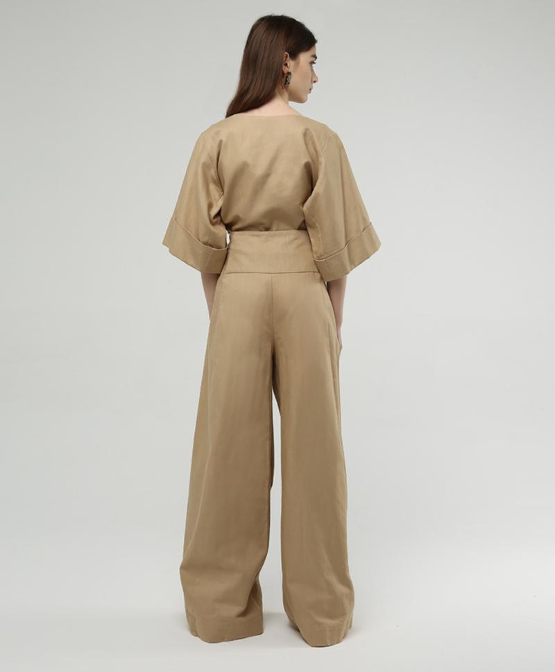 брюки-сзади