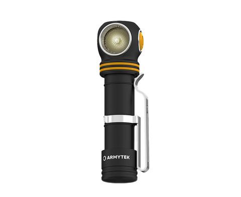 Мультифонарь светодиодный Armytek Elf C2 Micro USB+18650, 1023 лм, теплый свет, аккумулятор