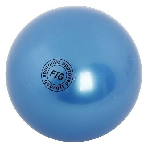 Мяч для худ. гимнастики (19 см, 420 гр)  синий AB2801