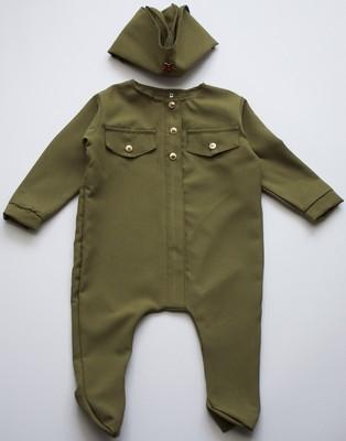 Военная форма д Солдатик малышок 6-9 мес