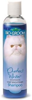 Груминг, уход за шерстью Кондиционирующий шампунь для кошек белого и светлых окрасов, Bio-Groom Purrfect White Shampoo, 237 мл 21118.jpg