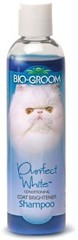 Кондиционирующий шампунь для кошек белого и светлых окрасов, Bio-Groom Purrfect White Shampoo, 237 мл