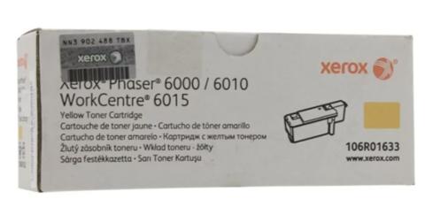 Картридж Xerox 106R01633 желтый