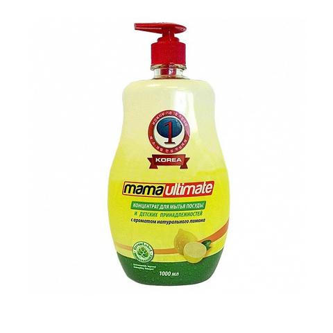Для мытья с ароматом лимона Mama 1 л