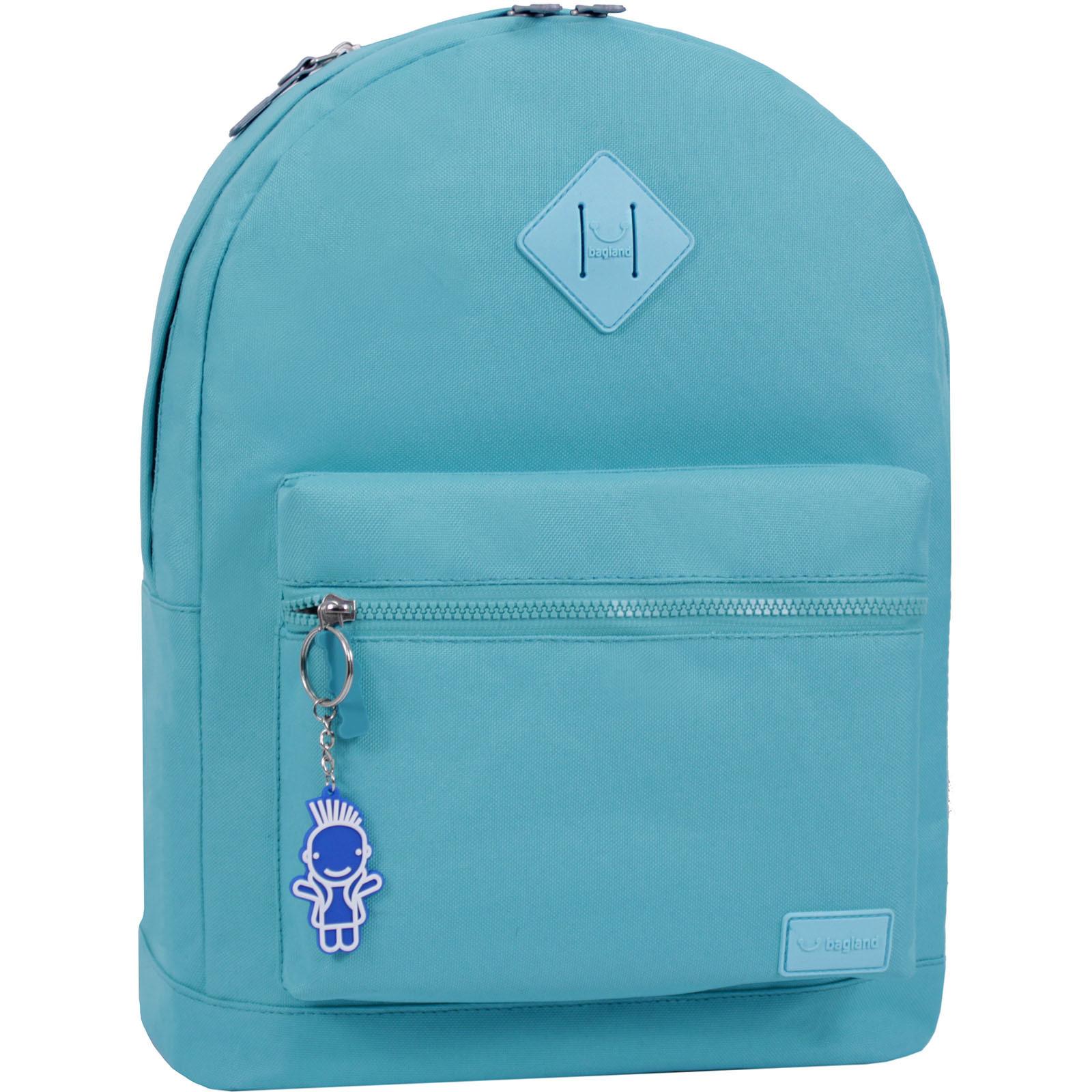 Молодежные рюкзаки Рюкзак Bagland Hood W/R 17 л. бирюза 446 (0054466) IMG_6388_суб.446____копия.JPG