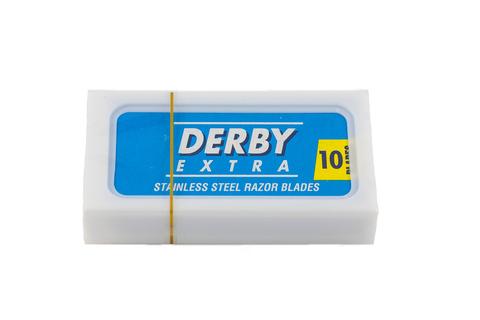 Лезвия DERBY Extra синие 10 шт