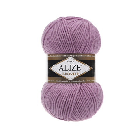 Пряжа Alize Lanagold 28 роза