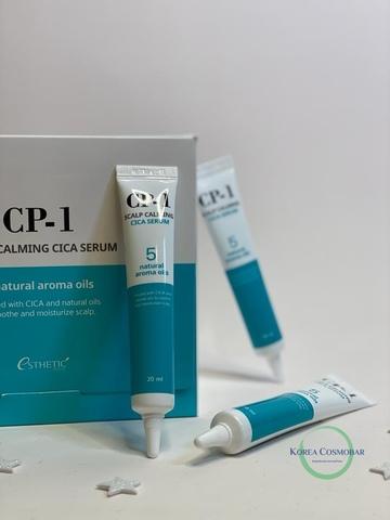 Esthetic House Cыворотка для кожи головы успокаивающая - CP-1 Scalp calming cica serum