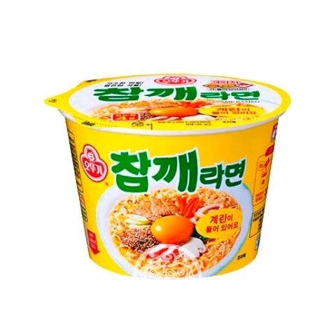 Лапша б/п OTTOGI Sesame Ramen со вкусом говядины 110г Корея
