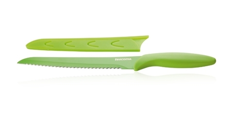 Нож для хлеба с неприлипающим покрытием Tescoma PRESTO TONE 20 см